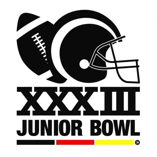 Logo des Junior Bowl XXXIII (Foto: Panther Düsseldorf)