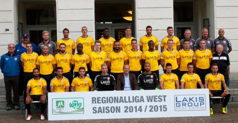 KFC Uerdingen stellt sein neues Team vor. (xity-Foto: E. Aslanidou)