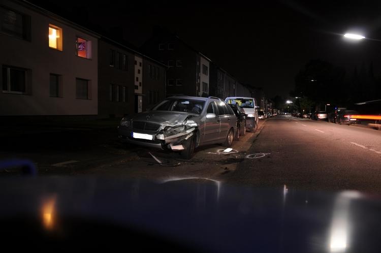 Verkehrsunfallflucht auf der Dohler Straße (Foto:Polizei Mönchengladbach)