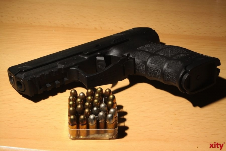 Zahl der angemeldeten Waffen steigt offenbar kaum (xity-Foto: D. Mundstock)