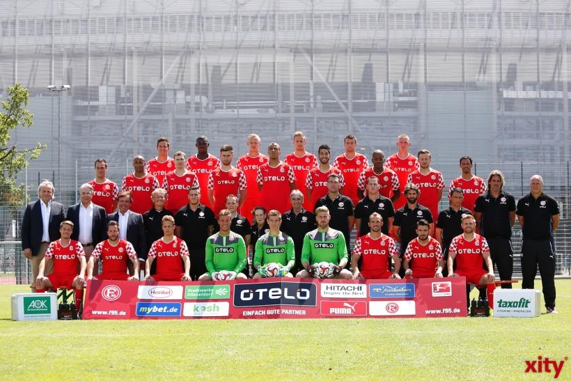 Fortuna Düsseldorf startet heute Abend in die neue Saison. (xity-Foto: D.Creutz)