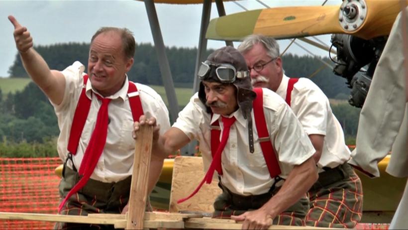 Die >Flying Dutchmen< : Abgedreht, schr&auml;g, komisch und unterhaltsam. Foto: Torsten Sauer