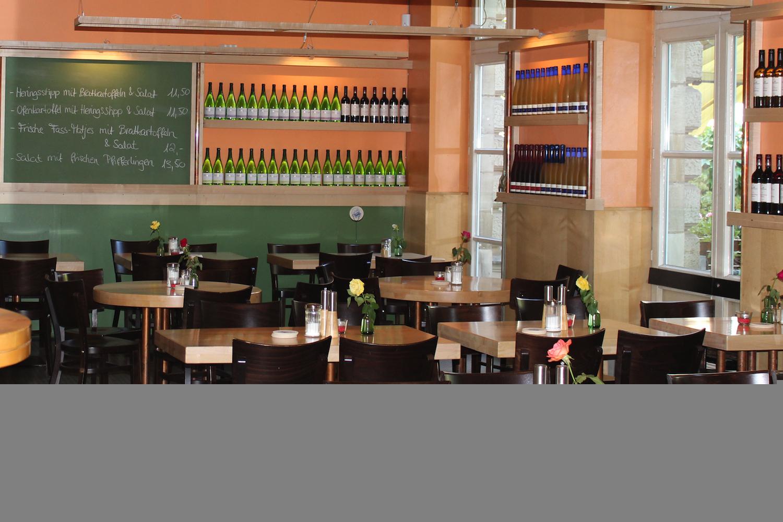 Modern eingerichtetes Restaurant (xityFoto: V.Golldam)