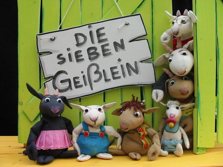 Die sieben Geißlein (Foto: Puppentheater Helmholtzstraße)