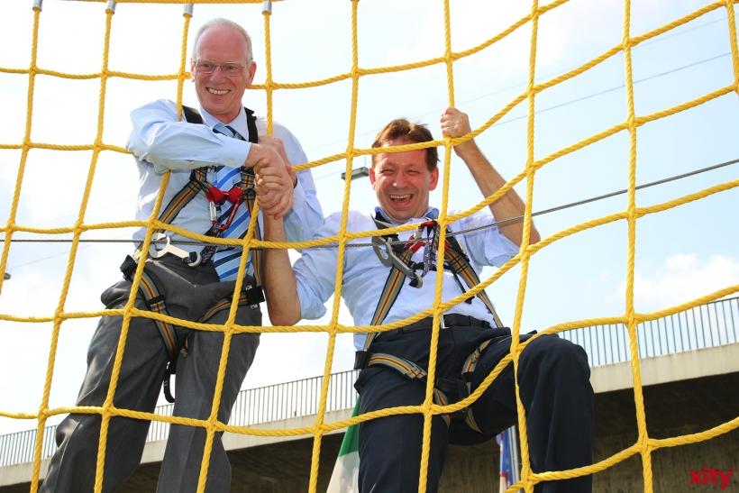 Ulrich Koch und Burkhard Hintzsche (xity-Foto: P. Basarir)