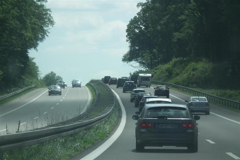 Die erste Rückreisewelle rollt über die Autobahnen (xity-Foto: D. Postert)