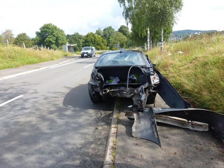 Vorfahrt missachtet (Foto:Kreispolizeibehörde Oberbergischer Kreis)