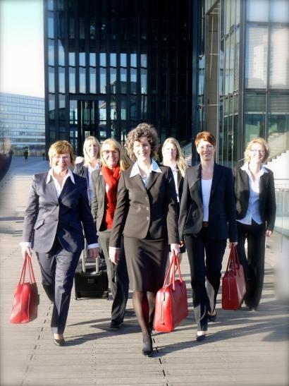 Methode Erfolgsteam - Ich bin ja nicht allein. Der BPW-Vorstand macht es vor. Gemeinsam ist man stark. (Foto:BPW Düsseldorf)