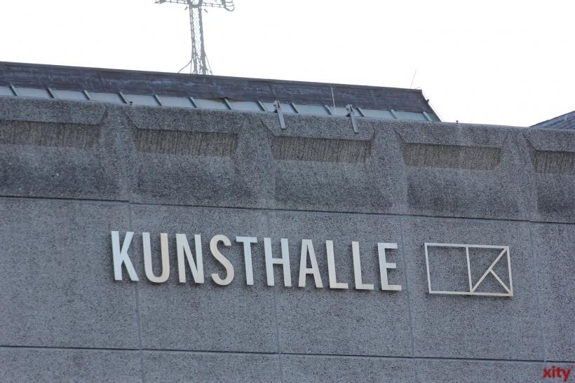 """Ausstellungsprojekt """"ÜBER ECK"""" in der Kunsthalle Düsseldorf (xity-Foto: D. Creutz)"""