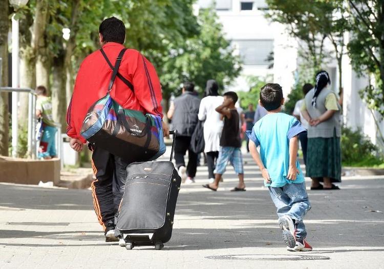 Rufe nach mehr deutscher Hilfe für Flüchtlinge (© 2014 AFP)