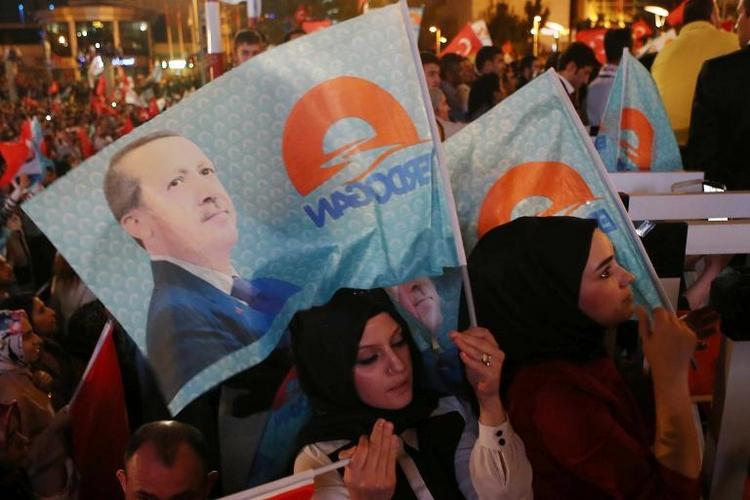 Grüne appellieren an Erdogan nach Wahltriumph (© 2014 AFP)