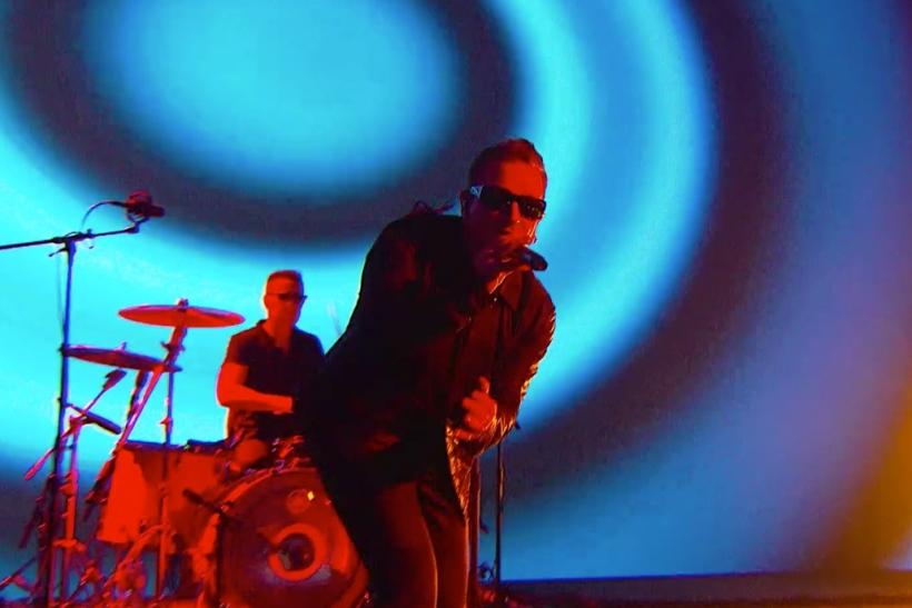 Am Ende des Special Events gaben sich U2 die Ehre (Foto: Apple)