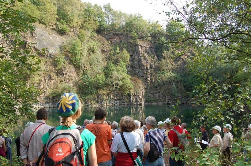 Mit Forschern auf Entdeckungstour in NRW. (Foto: Geologischer Dienst Krefeld)