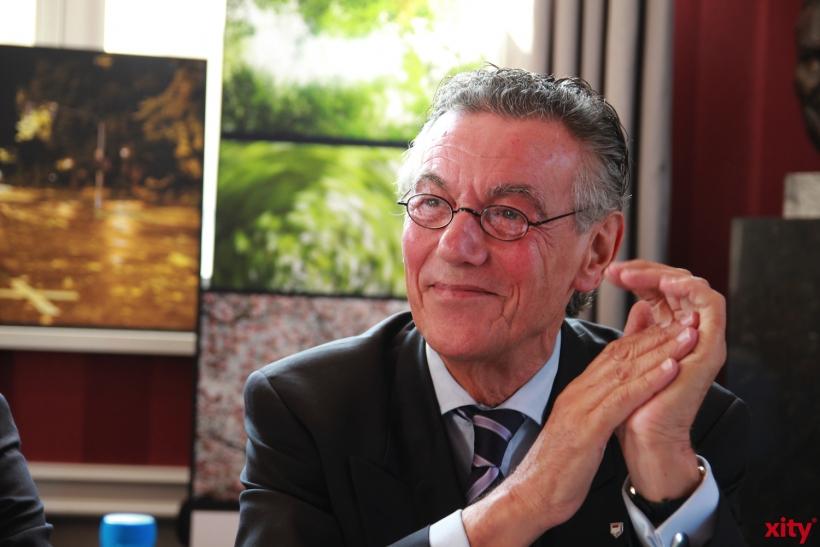 Baas der Jonges Herr Wolfgang Rolshoven. (xity-Foto: P. Basarir)