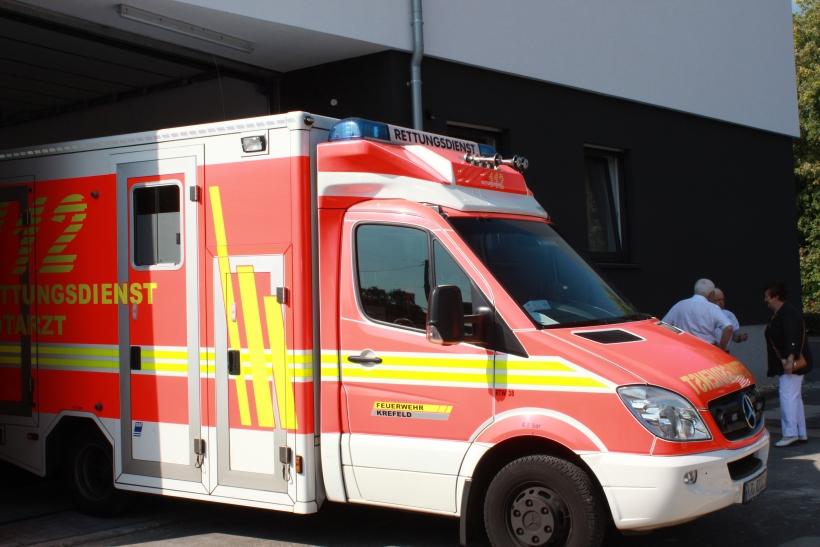 Die neue Rettungswache  wurde am vergangenen Mittwoch, 17. September 2014 offiziell in Betrieb genommen. (xity-Foto: E. Aslanidou)