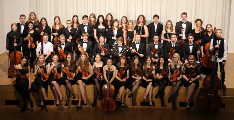 """Das Jugendsinfonieorchester der Städtischen Musikschule Ratingen."" (Foto: Musikschule Stadt Ratingen)"