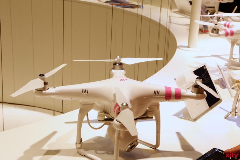 Auch Dronen waren zu finden (xity-Foto: D. Creutz)