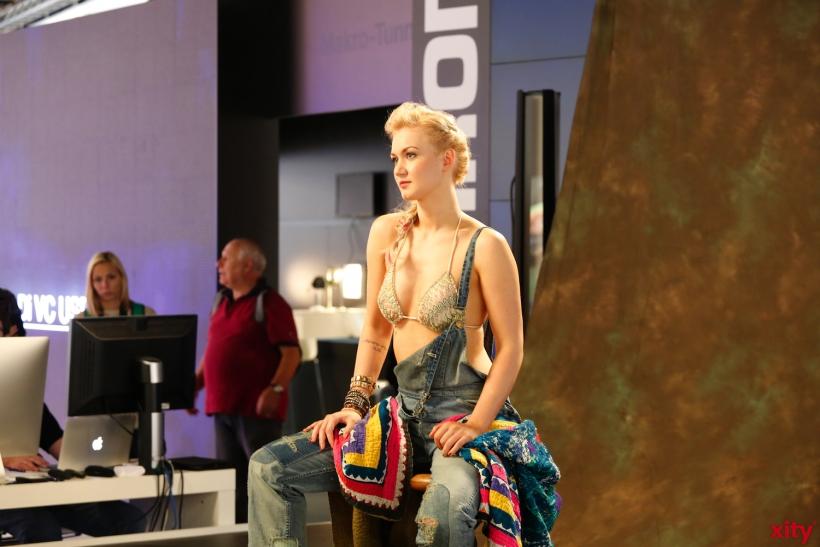 Live-Shooting mit Models (xity-Foto: D. Creutz)