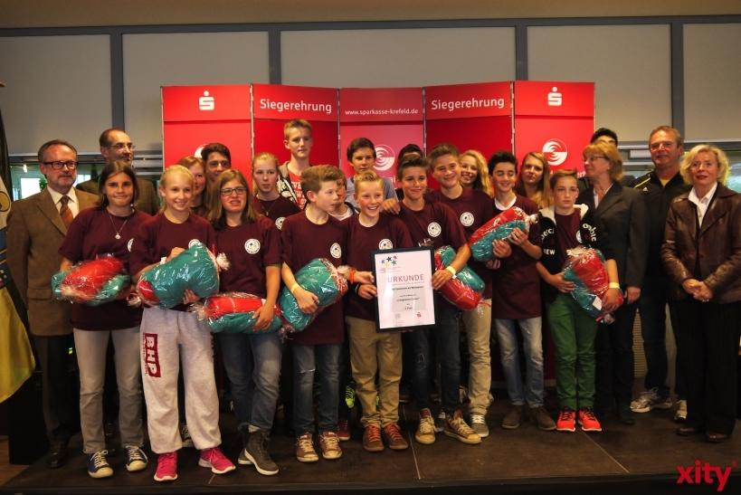 Die Schulsportmeister 2014 wurden im Krefelder Königpalast geehrt. (xity-Foto: E. Aslanidou)