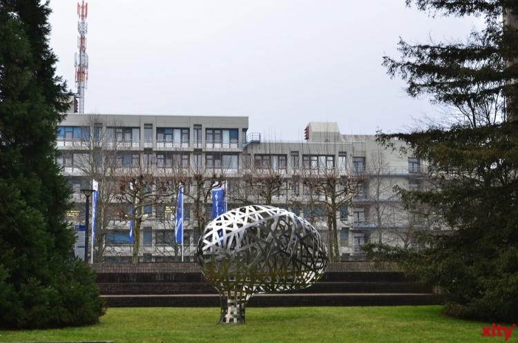 Grundsteinlegung auf dem Campus der Heinrich-Heine-Universität Düsseldorf (xity-Foto: S. Holtschneider)
