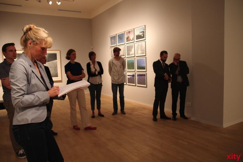 Erste Gäste durften die Ausstellung schon bestaunen (xity-Foto:AO)