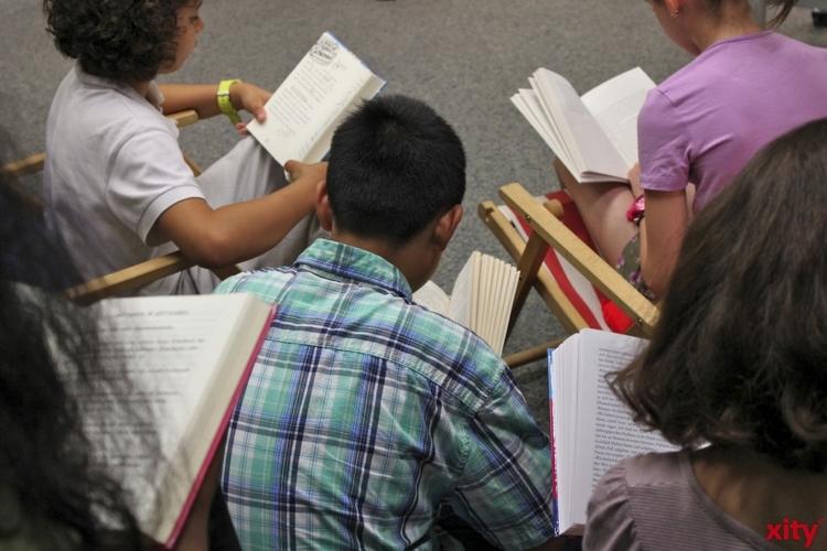Jugendbuchwoche im Niederrheinischen Literaturhaus. (xity-Foto: D. Postert)