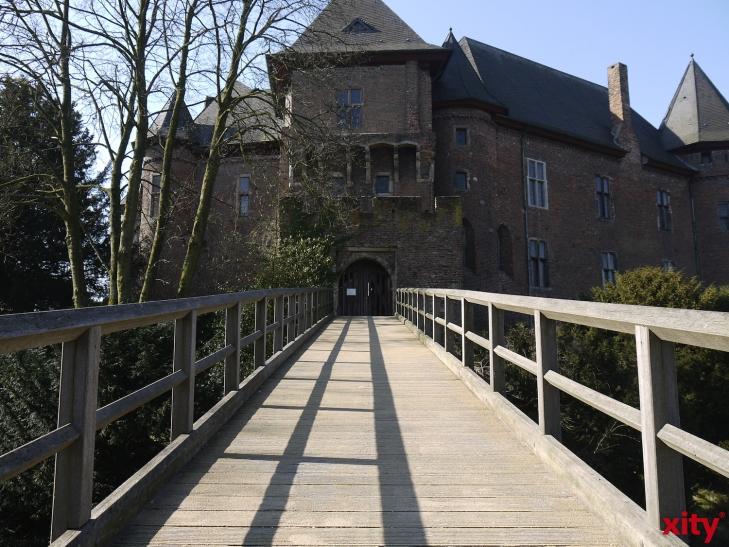 """Museum Burg Linn: Rundgang durch die Erlebnisausstellung """"Bodenschätze"""". (xity-Foto: E. Aslanidou)"""