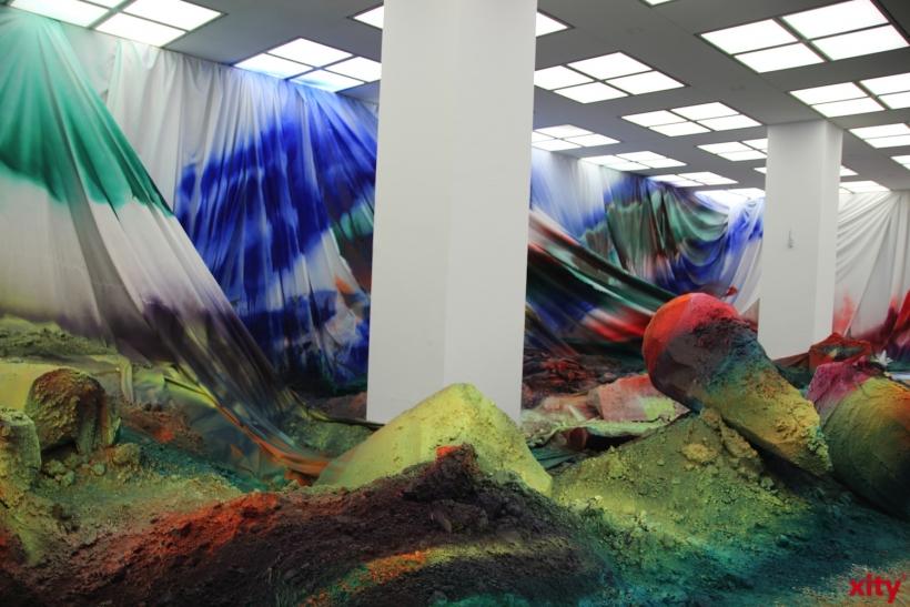 Außergewöhnliche Ausstellung von Katharina Grosse