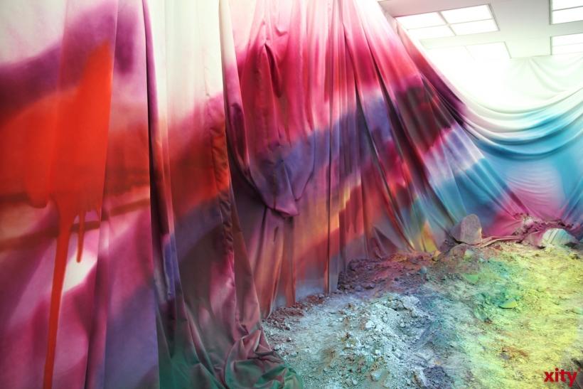 Verschiedene Materialien in der Ausstellung (xity-Foto:AO)
