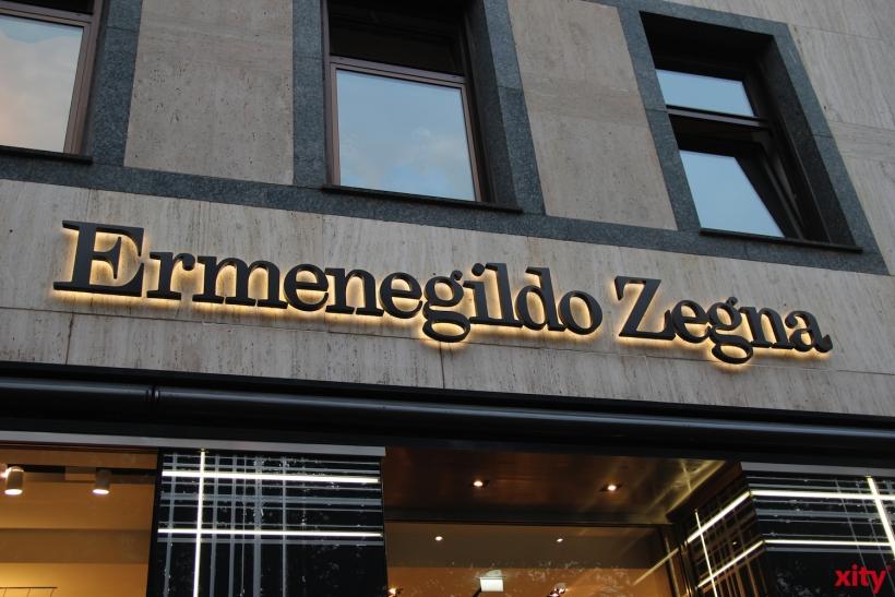 Ermenegildo Zegna feiert das Re-Opening auf der Kö (xity-Foto: H.Müller)