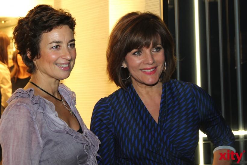 Birgit Schrowange und Isabel Varell (xity-Foto: H.Müller)