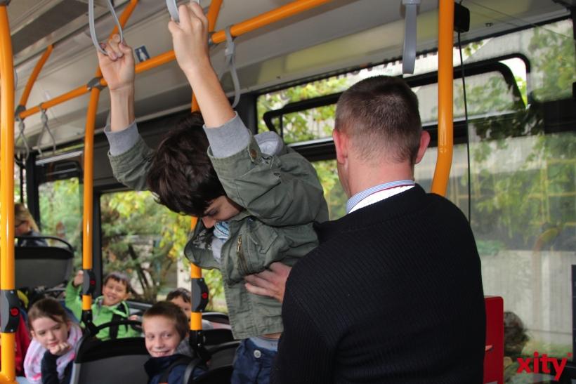 Verkehrspädagogisches Projekt Busschule (xity-Foto:S. Basalla)