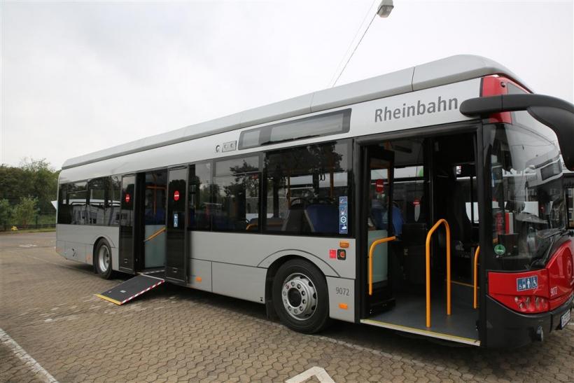 Rheinbahn testet rein elektrische Busse (Foto: Rheinbahn)