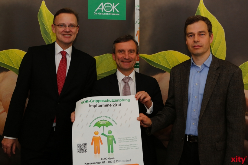 (v.l.)Dieter Hillemacher, Thomas Geisel und Dr. Klaus Göbels (xity-Foto: D. Creutz)