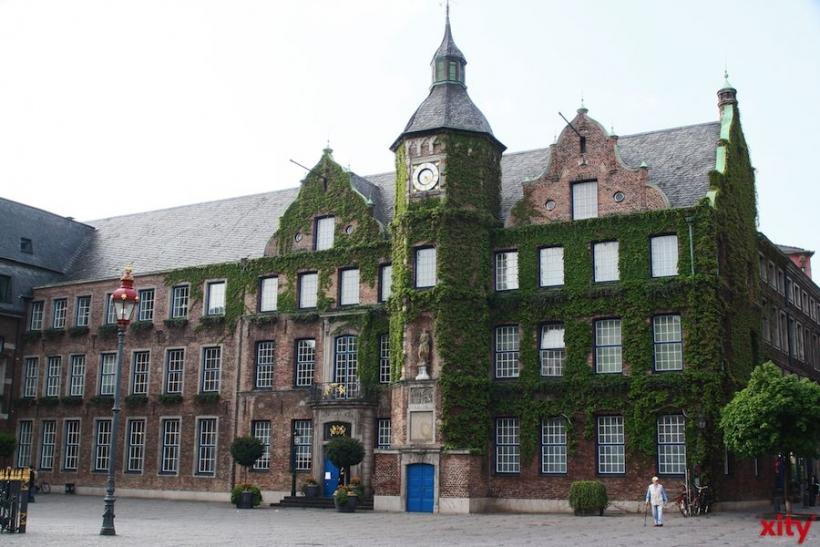 Rathauskomplex vor umfangreicher Sanierung (xity-Foto: M. Völker)