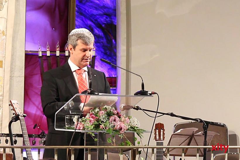 Dr. Oded Horowitz, Vorsitzender der Jüdischen Gemeinde Düsseldorf (xity-Foto: P. Basarir)