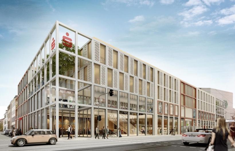 Neue Attraktion für die Innenstadt an der Friedrichstraße / Sankt-Anton-Straße / Königstraße. (Fotocredit: die developer)