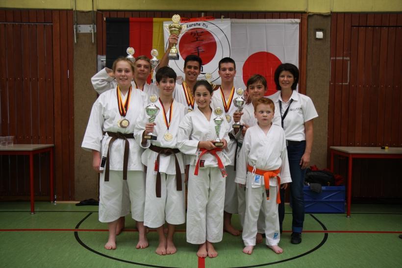 Karate-Landesmeisterschaft 2014 in Gladbeck. (Foto: D. Rieper)