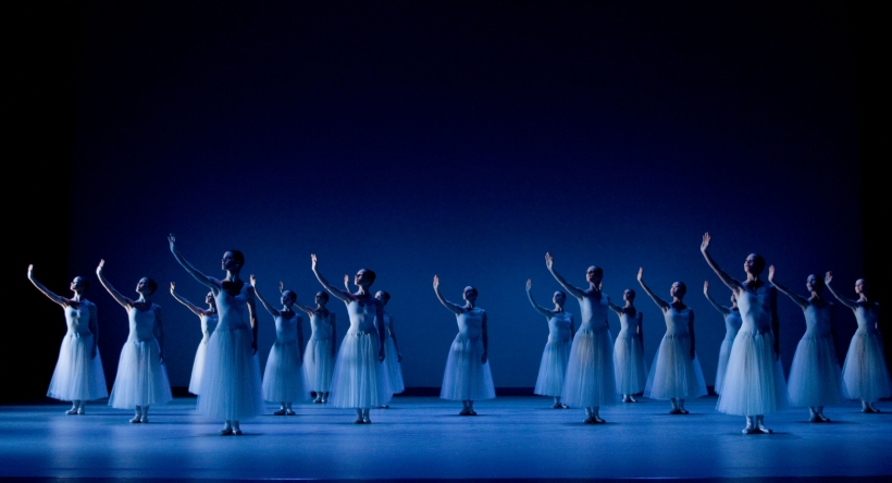 George Balanchine - Serenade (Foto: Gert Weigelt)