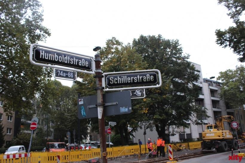 Neue Gleise am Schillerplatz (xity-Foto:PI)