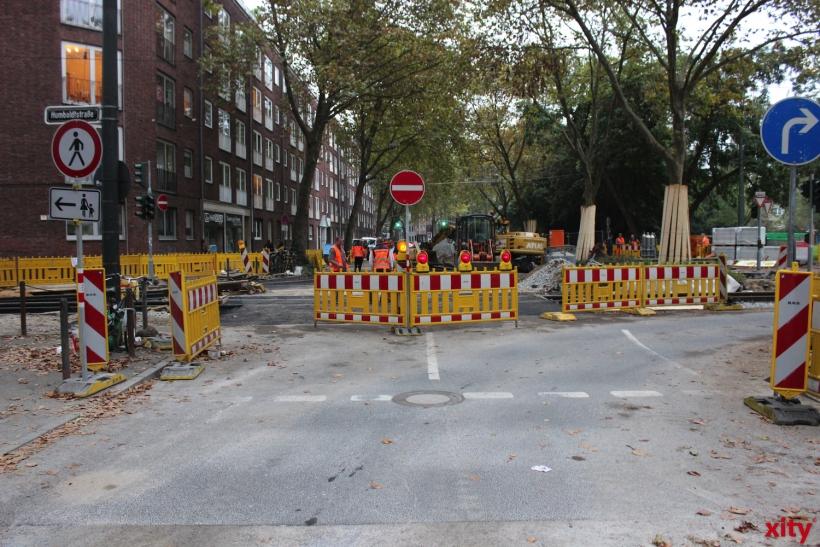 Die Gleisbauarbeiten betreffen auch die Düsseldorfer Autofahrer (xity-Foto: PI)