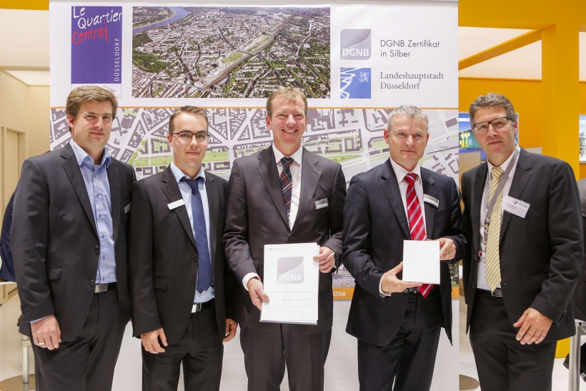 Gregor Grassl, David Mahder, Ivo Iven, Ralph Schneemann und Johannes Kreißig (Foto: Holzrichterkommunikation)