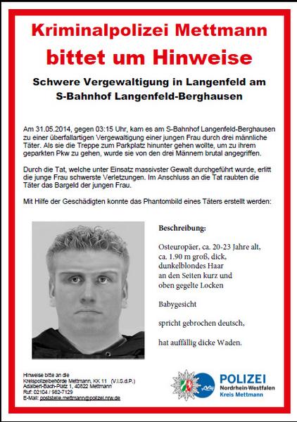 Quelle: Polizei Mettmann