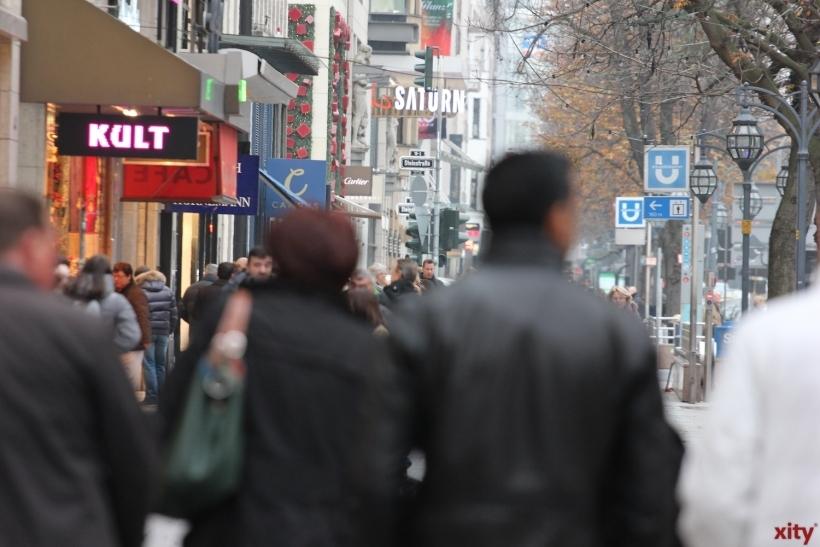 IHK befragt Passanten und Kaufleute rund um die Nordstraße (xity-Foto: D. Creutz)
