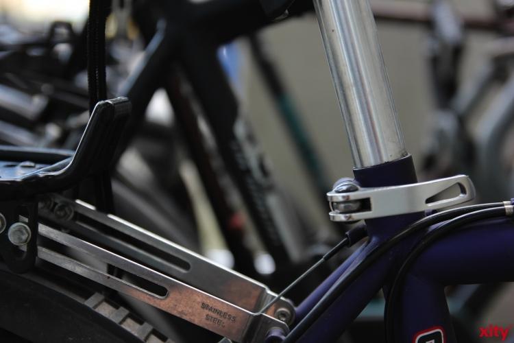 80 Fahrräder kommen bei einer Versteigerung des städtischen Fundbüros in Düsseldorf unter den Hammer (xity-Foto: P. Basarir)