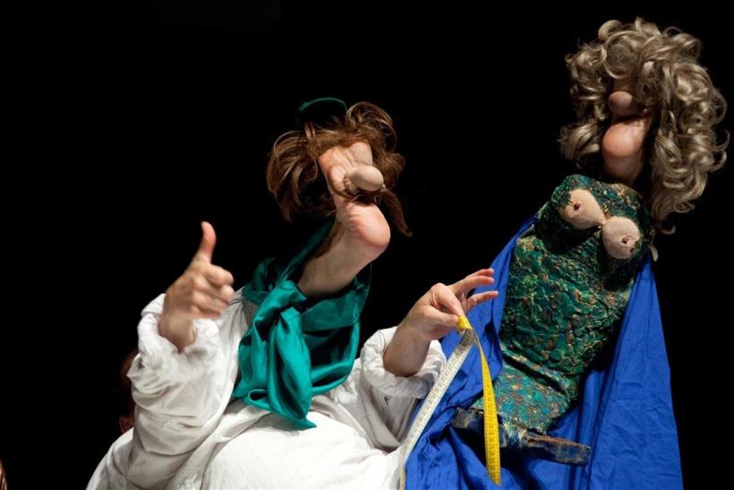 """Das """"Fußtheater"""" von Anne Klinge begeisterte schon ganz Europa (Foto: Fußtheater)"""