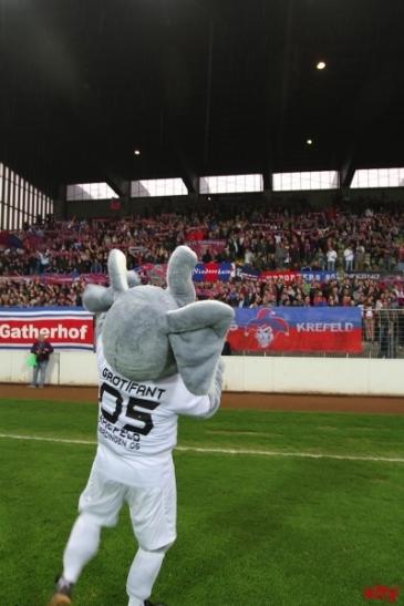 Der KFC Uerdingen ist im Achtelfinale des Niederrheinpokals ausgeschieden. (xity-Foto: M. Völker)
