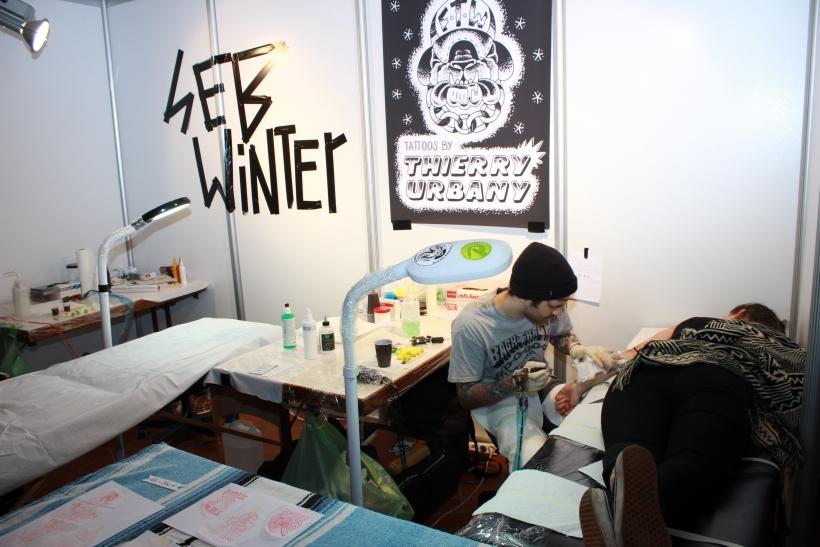 Außerdem wurden täglich im Tattoo Contest die schönsten Tätowierungen von einer Jury bewertet. (xity-Foto: E. Aslanidou)