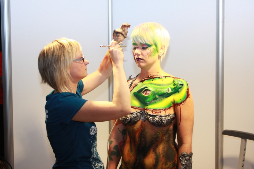 Das Seidenweberhaus in Krefeld wurde vom 10.- 12. Oktober wieder zum Zentrum der Körperkunst. (xity-Foto: E. Aslanidou)