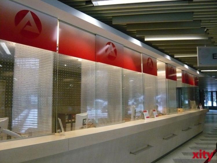 Mit erweiterten Öffnungszeiten baut die Agentur für Arbeit Düsseldorf den Service für Besucher weiter aus (xity-Foto: M. Völker)